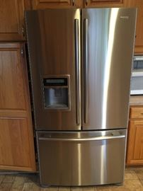 Kenmore  27.2 cu. ft. French Door Refrigerator - Stainless Steel with water/ice maker