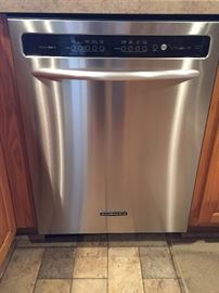 Kitchen Aid stainless steel dishwasher
