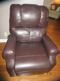 Recliner purchased from Gibson's....