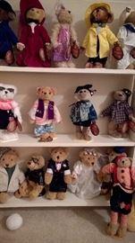 An entire room of teddy bears!!