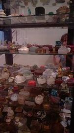 Hundreds of porcelain boxes!