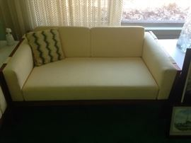 BUY IT NOW--Moreddi loveseat (one of two) mcm mid century--$575 each--sophia.dubrul@gmail.com