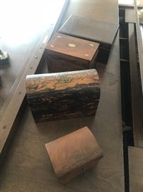 hand made boxes