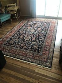 Persian rug wool