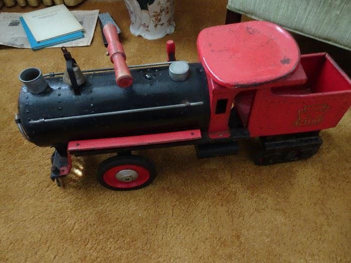 Keystone Train Peddle Car
