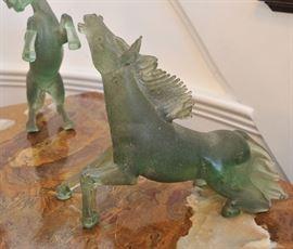 Pino Signoretto glass horses