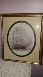 Signed Ship Picture