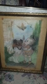 Antique Watercolor