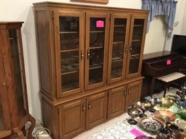 The largest display cabinet