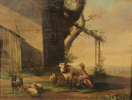 Art farm scene