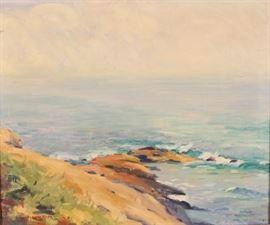 artwork SR Knox ocean scene