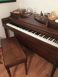 Oak Wellington Piano