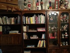 Nice bookcase and display units
