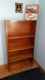 Large book case, we have two other bookcases different styles