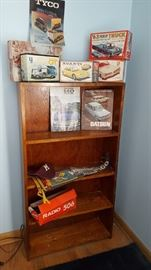 Vintage model car kits, some are just boxes