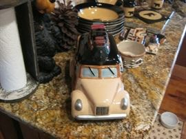 ANTIQUE AUTO COOKIE JAR