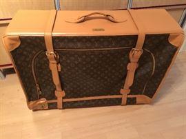 """73. Louis Vuitton Suitcase (33"""" x 12"""" x 24"""")"""