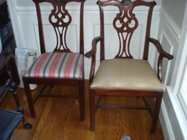Link Taylor , Mahogany table & 6 chairs