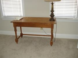 Writing desk, pine