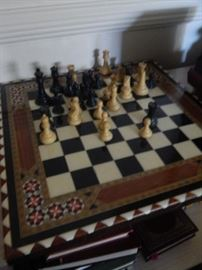 Beautiful chess set