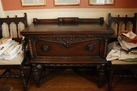 Jacobean antique Buffet