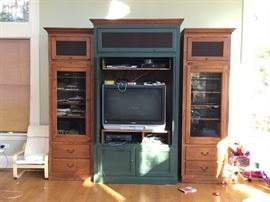 Ethan Allen storage unit