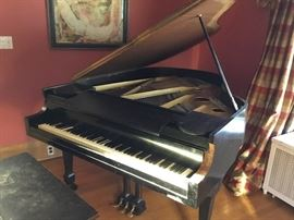 Kranich and Bach antique baby grand NEW YORK