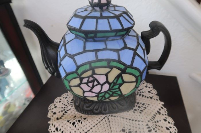 Tea pot light/lamp