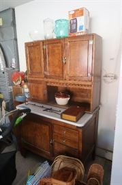 Hoosier Cabinet.  Beautiful.