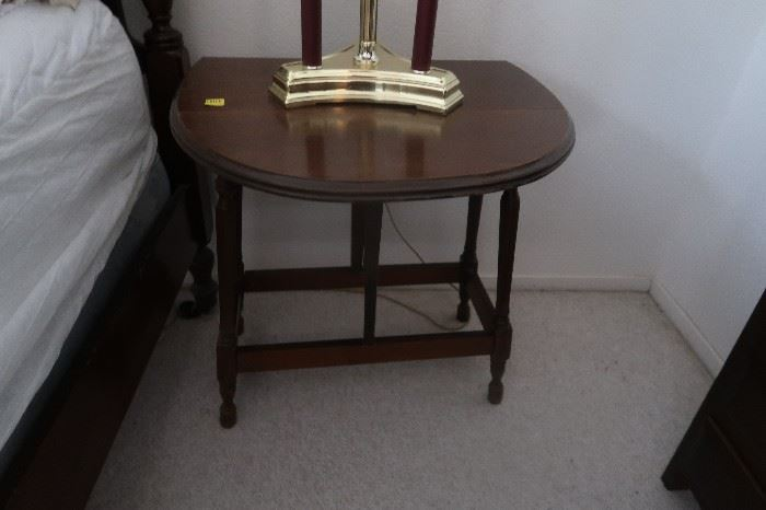 Unique drop leaf night SMALL table