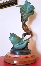 SEA CHANGE Bronze sculpture by Jeff Adams