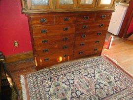 12-drawer cabinet