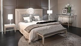 "FENDI casa 'Cameo"" bed  (eastern king size)"