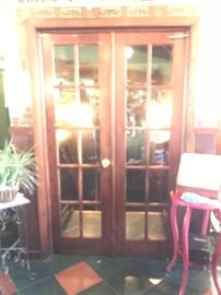 Great Vintage French Doors