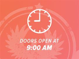 Doors Open at 9 AM
