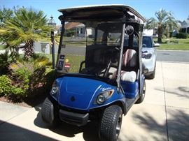 2014 Yamaha Gas Cart with 3660 miles,