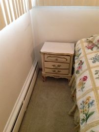 French Provincial! The second nightstand!