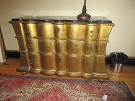 Fabulous gilt chest