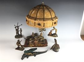 SELECTION OF VIENNA BRONZES  INCLUDING SOME NAUGHTIES.