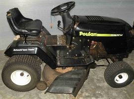 Poulon Riding mower