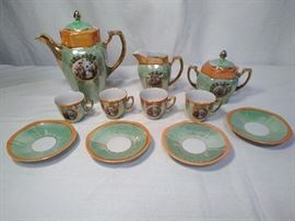 Green/Orange German Tea Set  https://www.ctbids.com/#!/description/share/5869