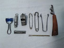 9 Misc. Whistles, Pins, & Kitchen Items  https://www.ctbids.com/#!/description/share/5902
