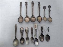 13 Misc. Detailed Spoon & Forks  https://www.ctbids.com/#!/description/share/5903