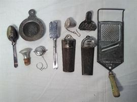 10 Misc. Strainers & Graders  https://www.ctbids.com/#!/description/share/5905