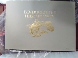 "Bev Doolittle ""Hide and Seek"" Print Collection - 2 Pieces  https://www.ctbids.com/#!/description/share/6051"