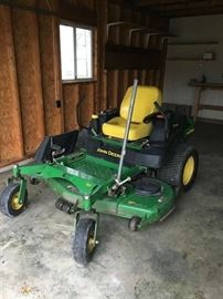 John Deere 757 60 inch commercial zero turn mower