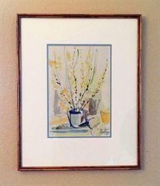 Mary Rupp - Michigan Artist - Original Signed Watercolor