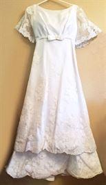 Vintage Wedding Dress - 1966