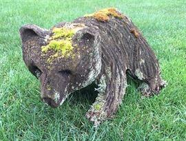 Little wood bear.