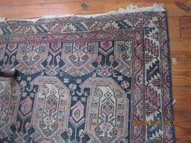 One of several oriental rugs.
